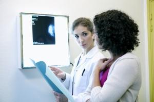 women working to do a Cancer Screening